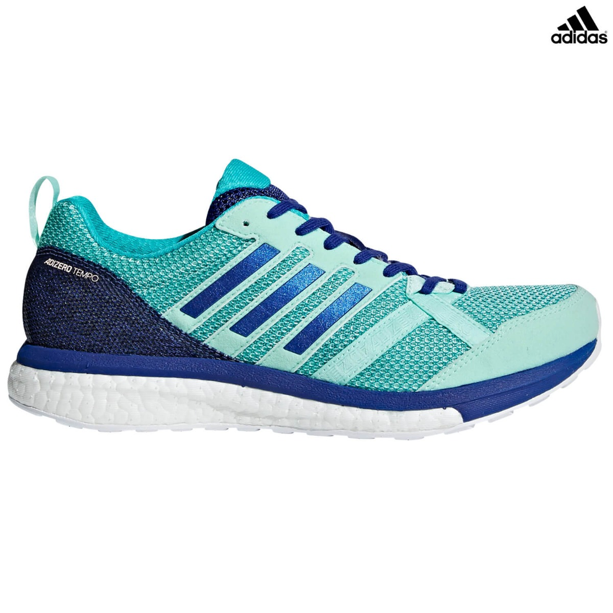 official photos fdc49 81615 adidas Adizero Tempo 9 Women's, mint/blue
