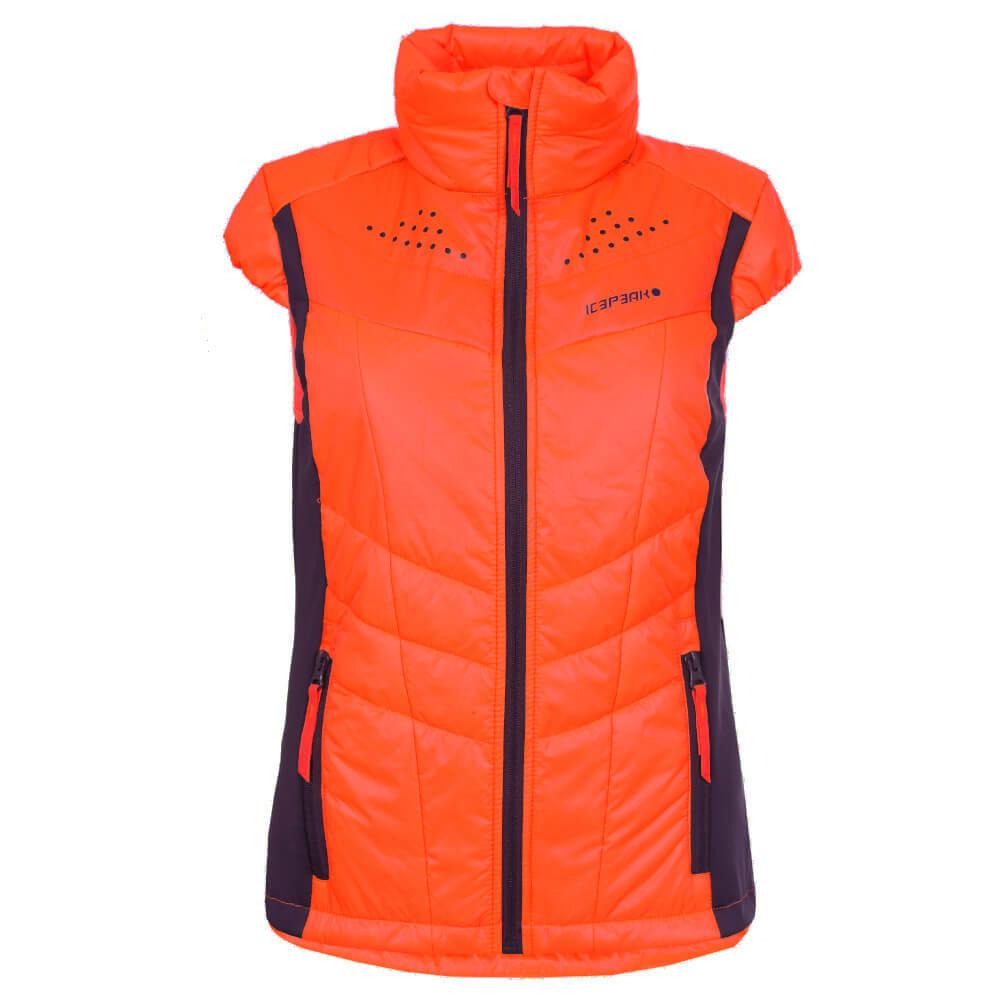 3caad743b38 Icepeak Bina Woman's Vest, Orange