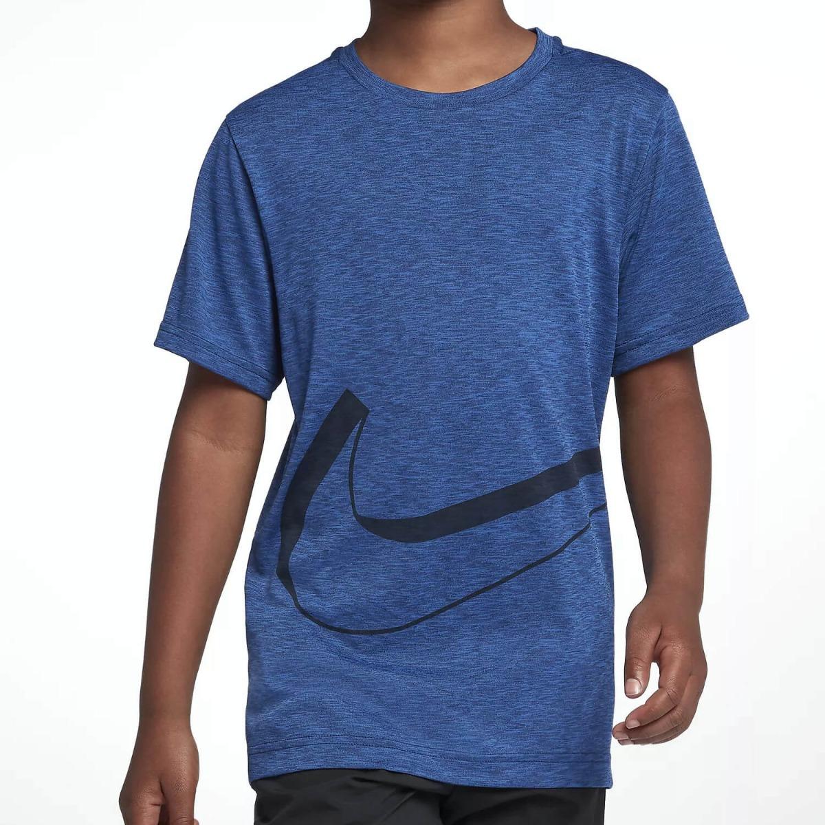 87caf775ed Nike Dri-Fit Kids SS Training Top, blue