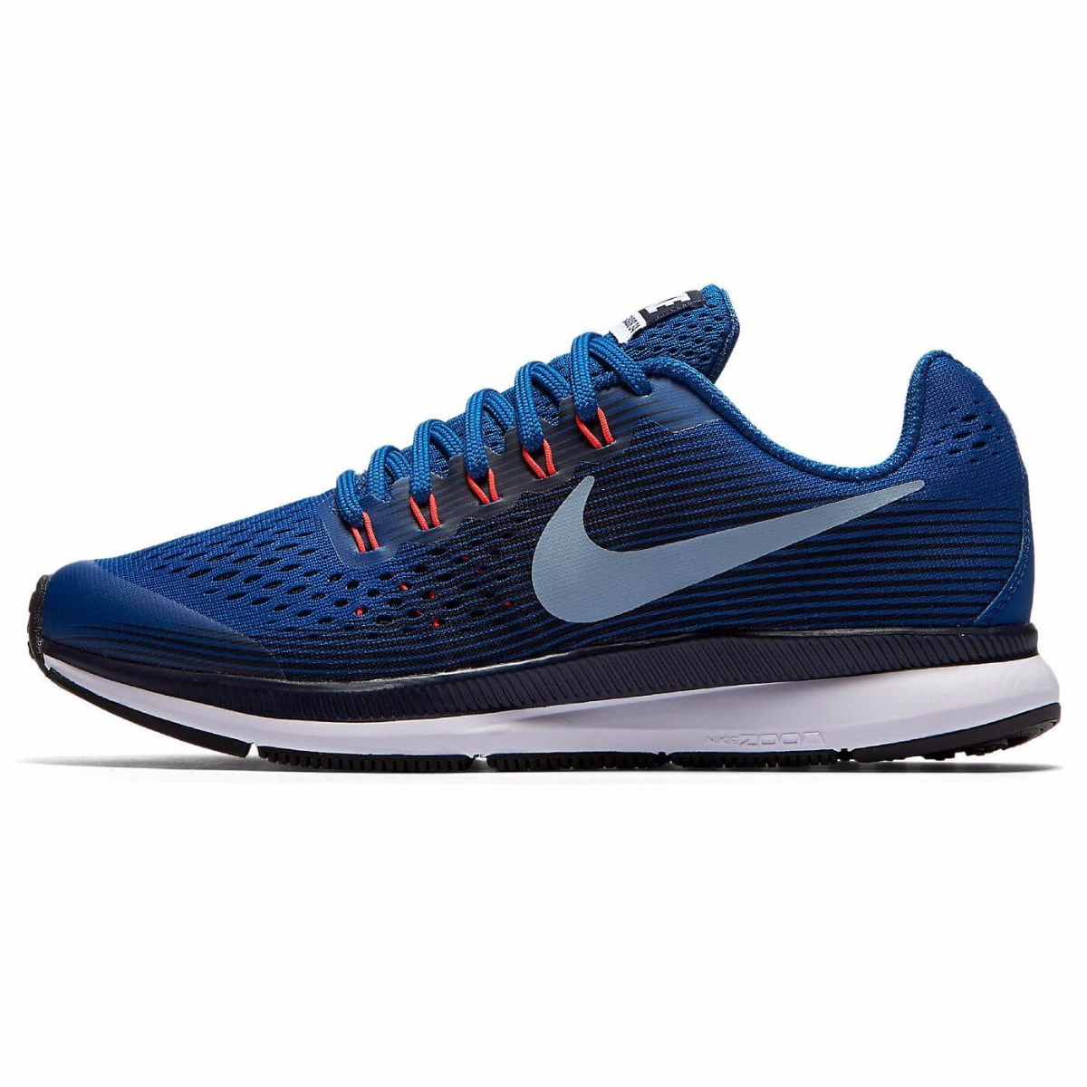 b8ff1702277 Nike Zoom Pegasus 34 (GS) Kid's Shoes, Blue Jay