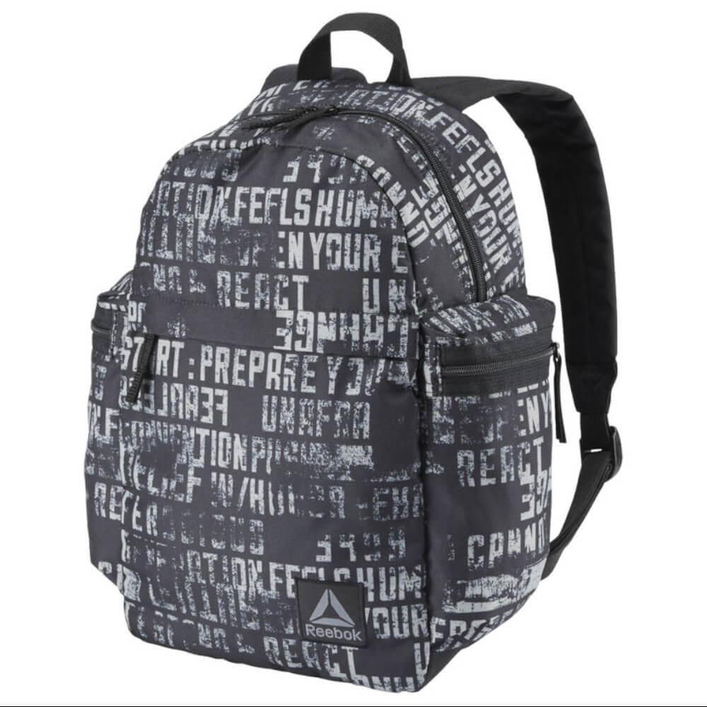 Reebok Backpack Kids Graphic Black