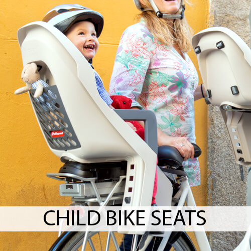 Kid's bike seats
