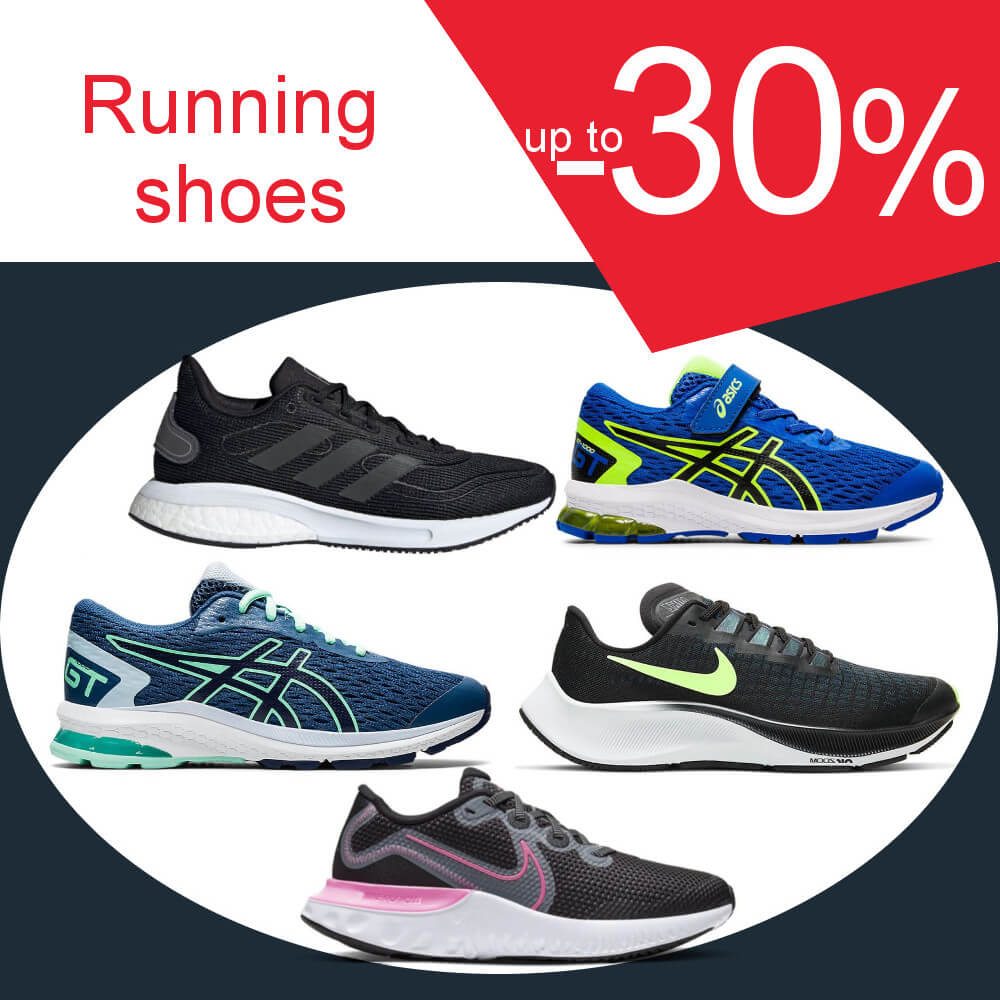 Running shoes -30%