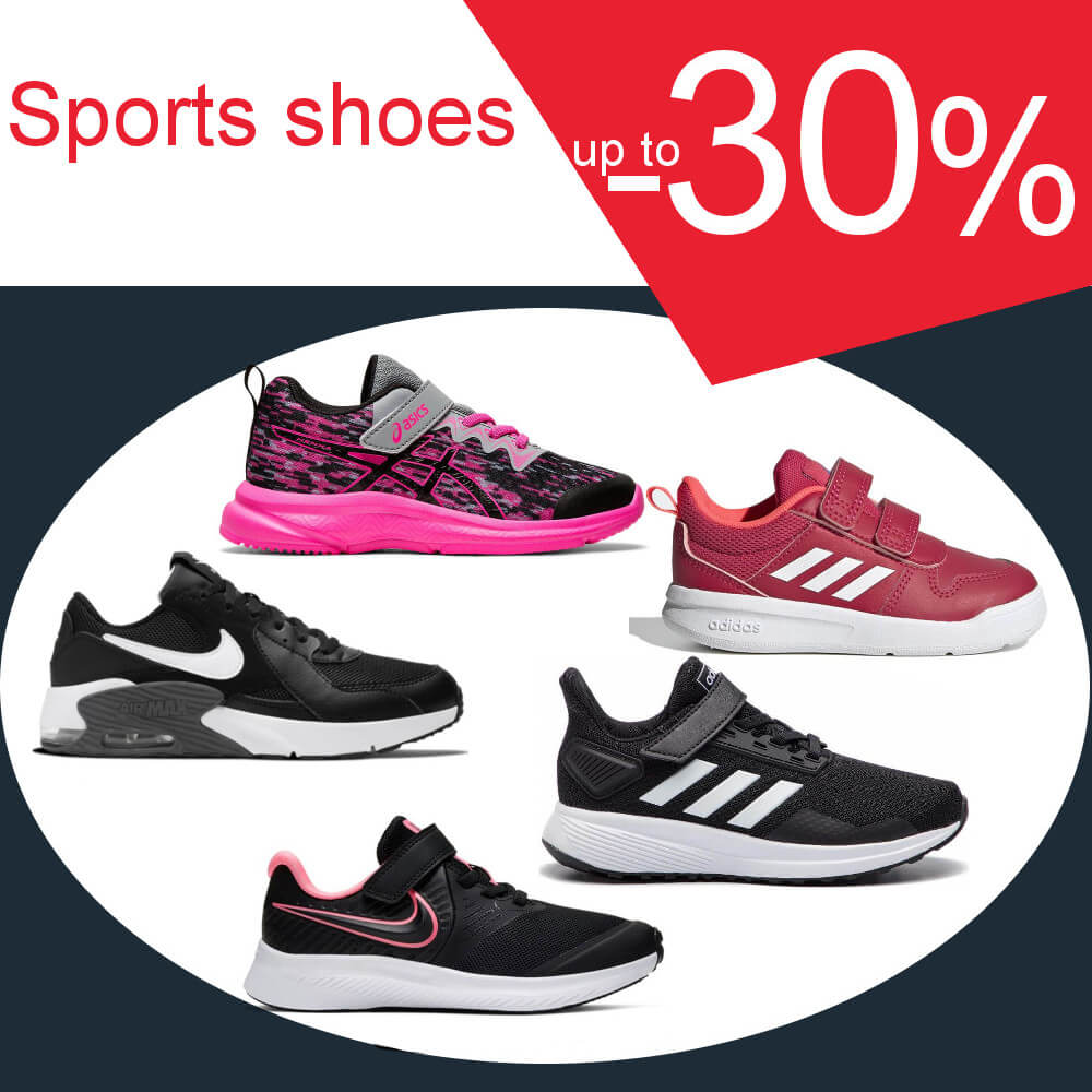 Sports shoes -30%