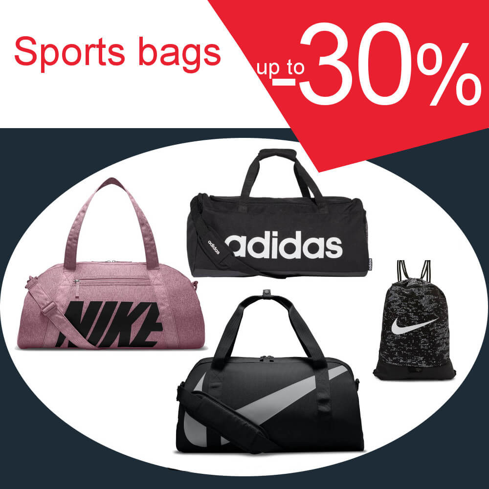Sports bags -30%