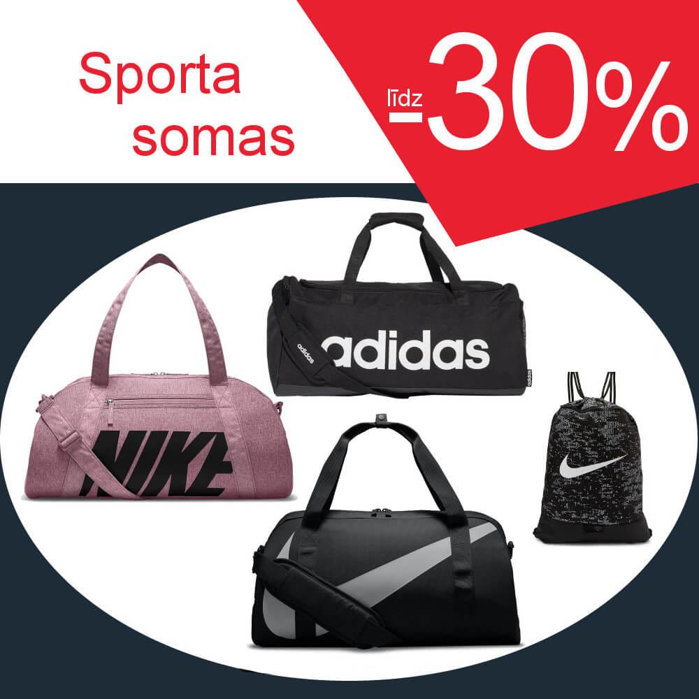 Sporta somām -30%