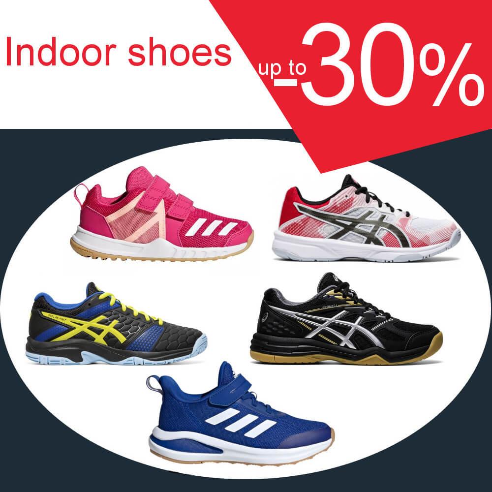 Indoor shoes -30%