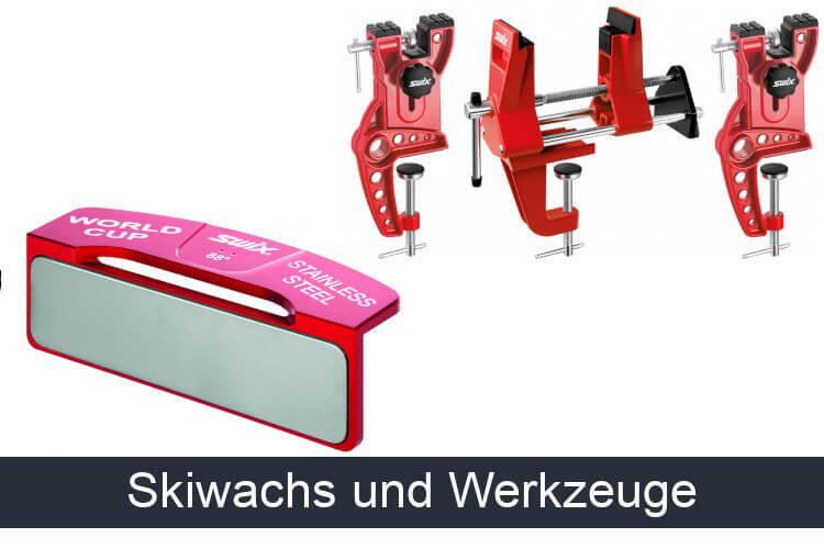Skiwachs und Skiservice Werkzeuge