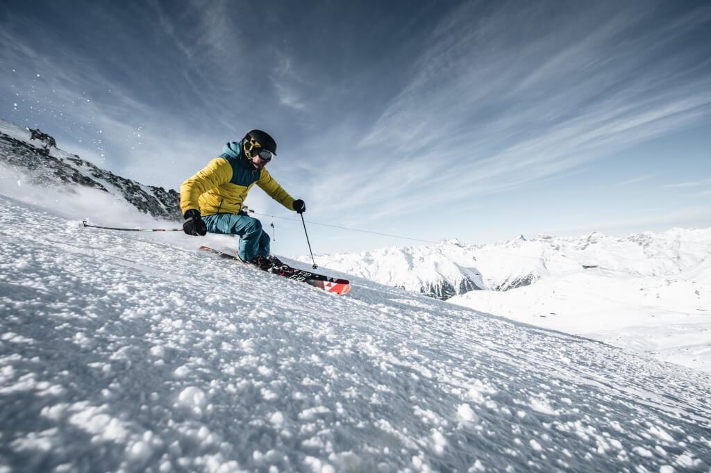 Alpin ski ausrūstung