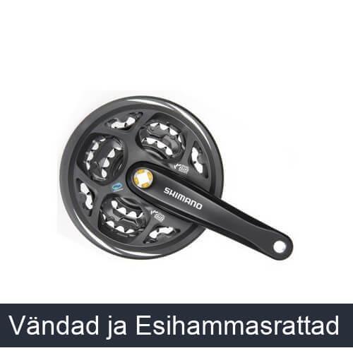 Vändad ja Esihammasrattad