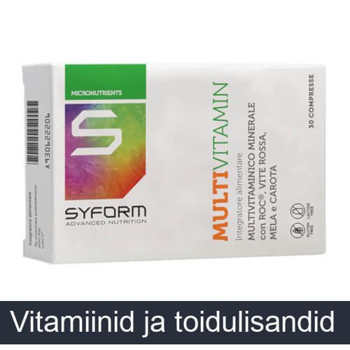 Vitamiinid ja toidulisandid
