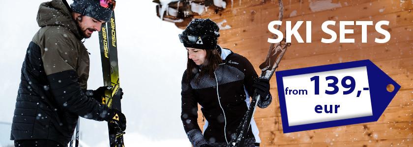 Cross country ski sets