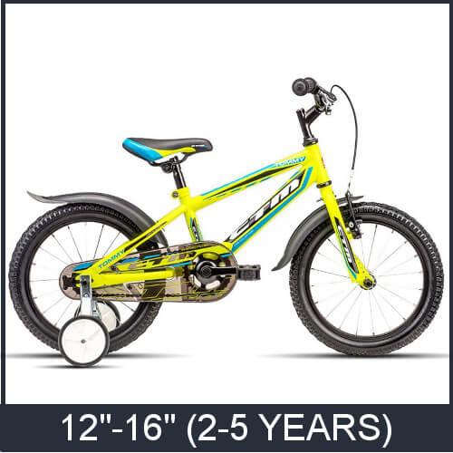 """Kids Bikes 12""""-16"""""""