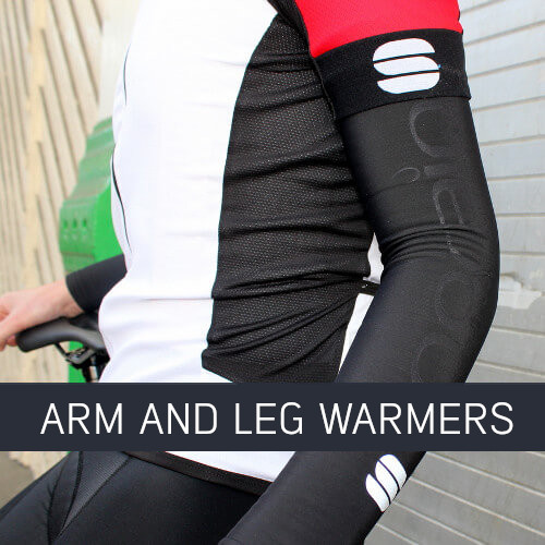 Cycling arm and leg warmers