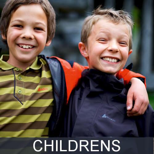 Kids hiking jackets