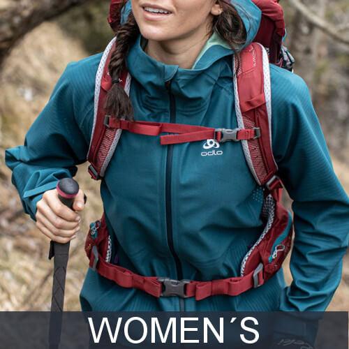 Womens hiking jackets