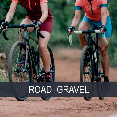 Road and gravel bikes