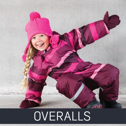 Winter Overalls Kids