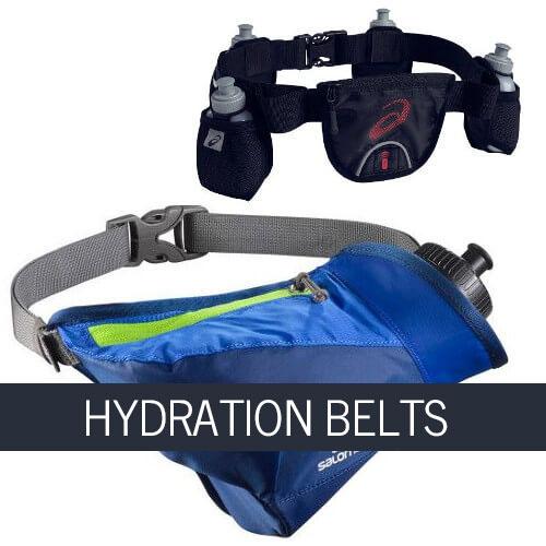 Running hydration belts