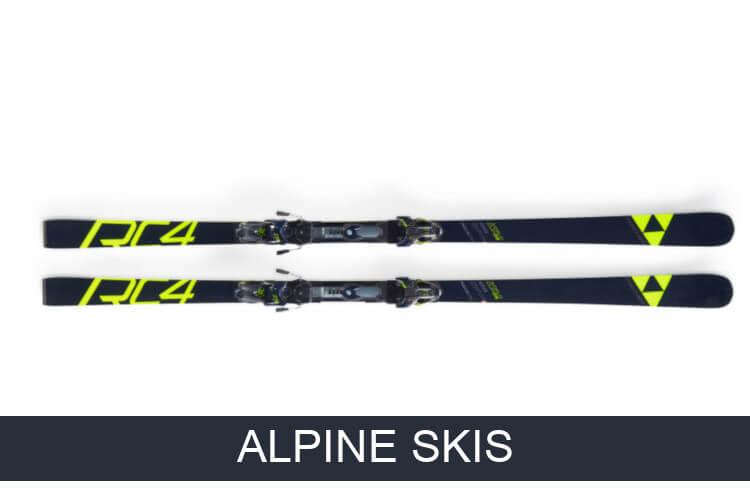 Alpine skis