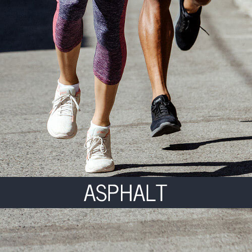 asphalt running shoes