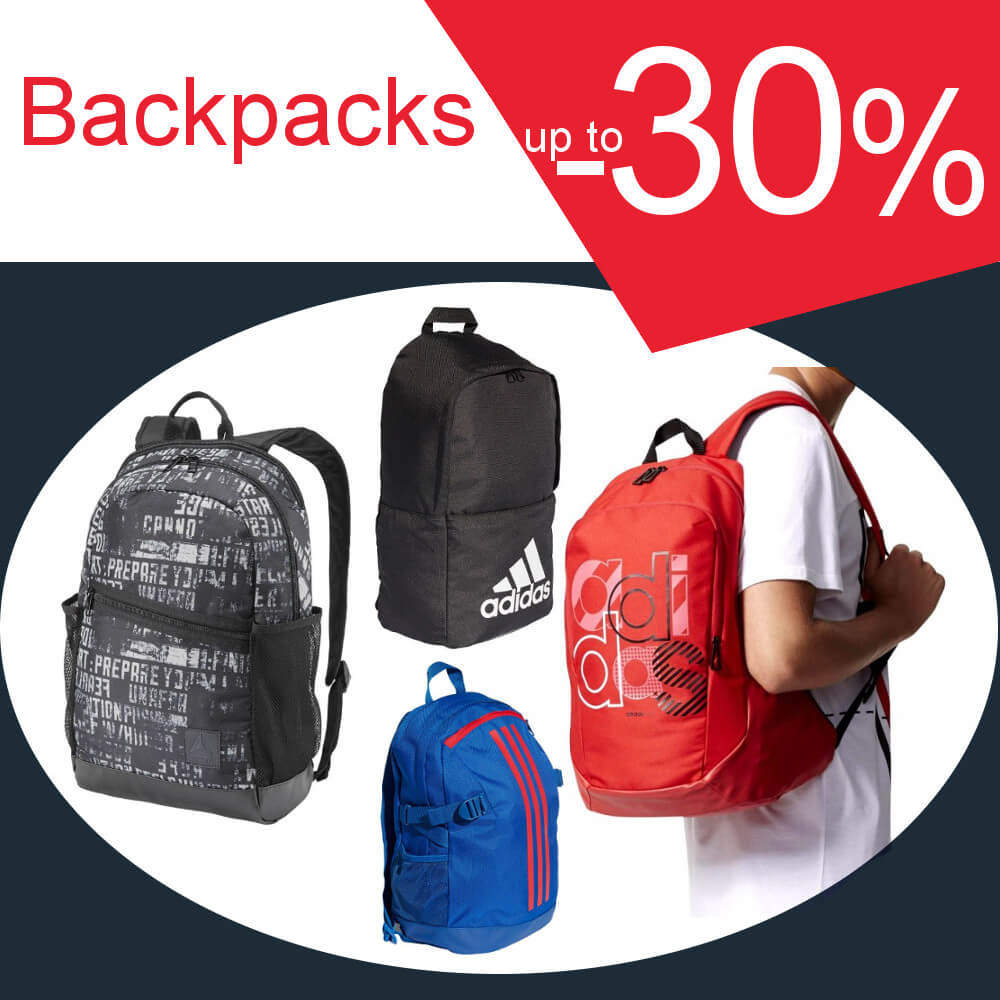 Backpacks -30%