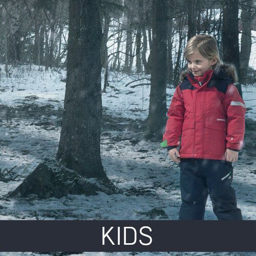 Kids autumn and winter clothing