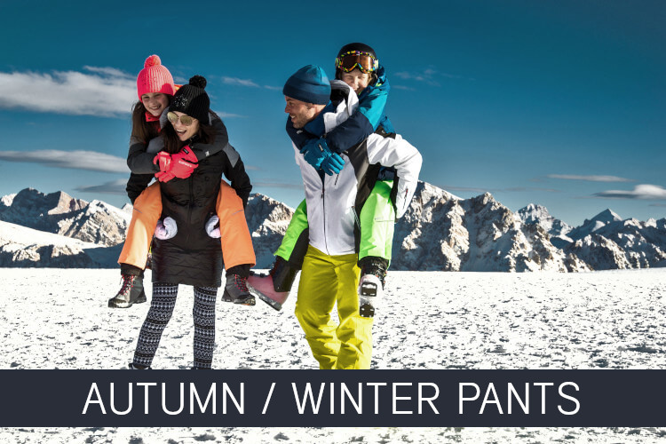 Autumn and winter pants