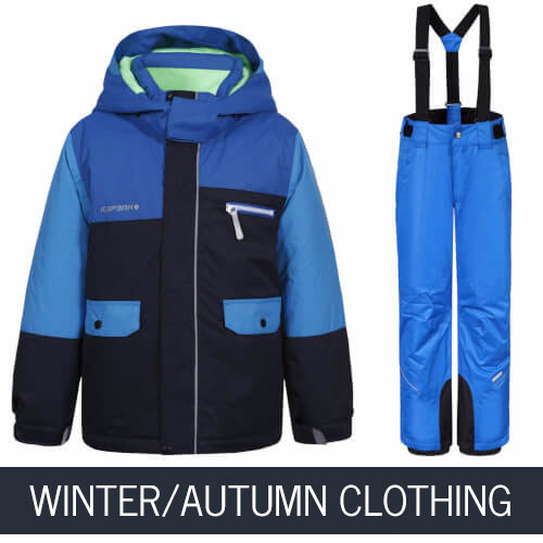 Children's Winter and Autumn Clothing