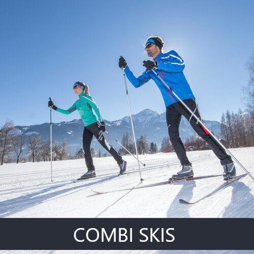 Combi skis