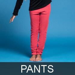 Kids thermal underwear pants