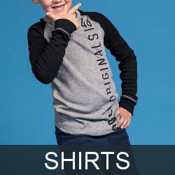Kids thermal underwear shirts