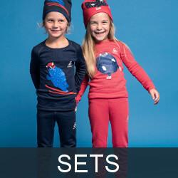 Kids thermal underwear sets