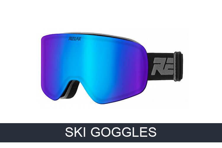 Alpine ski goggles