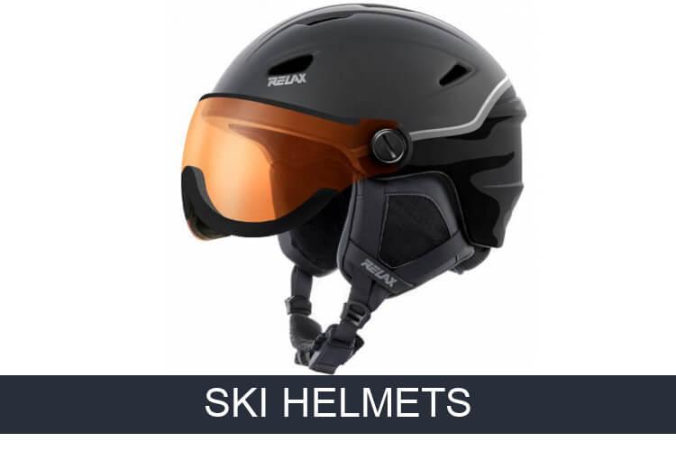 Alpine ski helmets