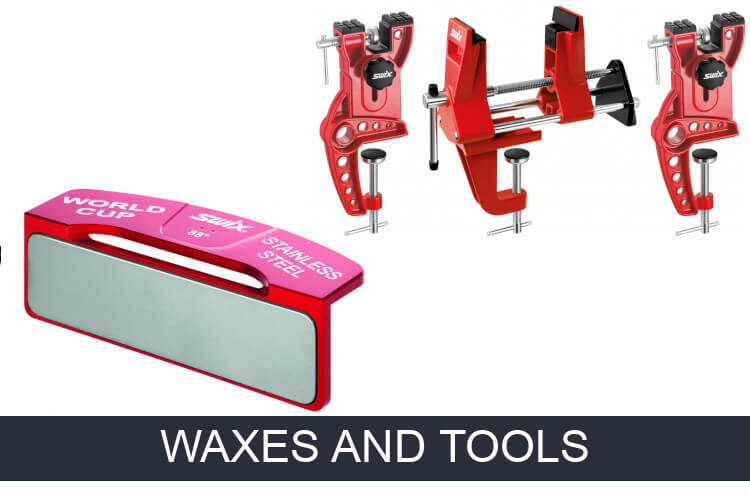 Ski waxes and tools