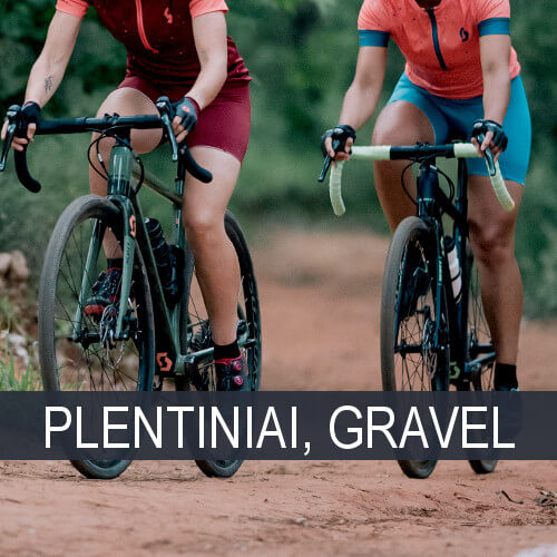 Plentiniai, Gravel, Cyclo Cross dviračiai
