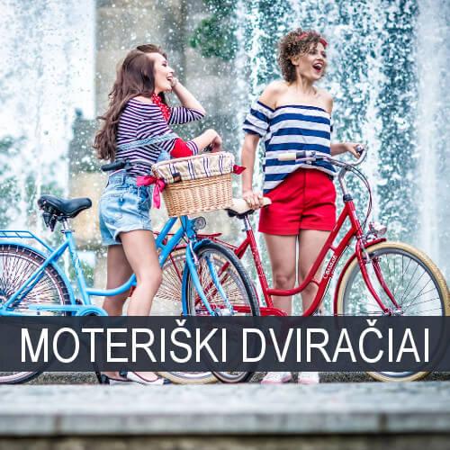 Moteriški dviračiai