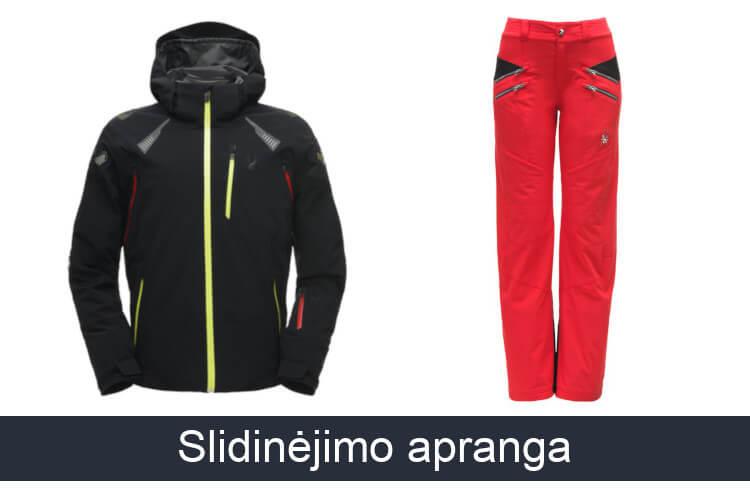 Kalnų slidinėjimo apranga