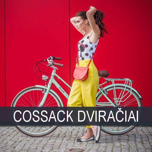 Moteriški Cossack dviračiai