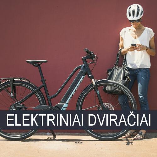 Moteriški elektriniai dviračiai