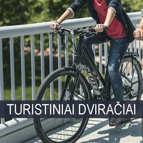 Moteriški Turistiniai dviračiai