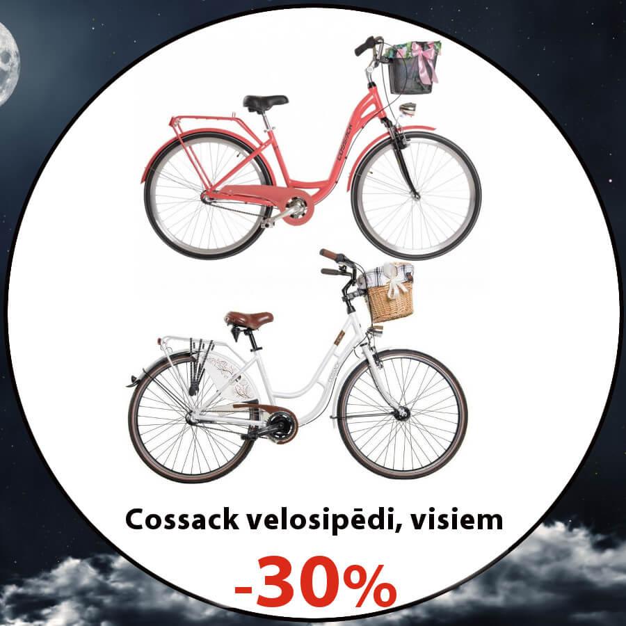 Cossack pilsētas velosipēdi
