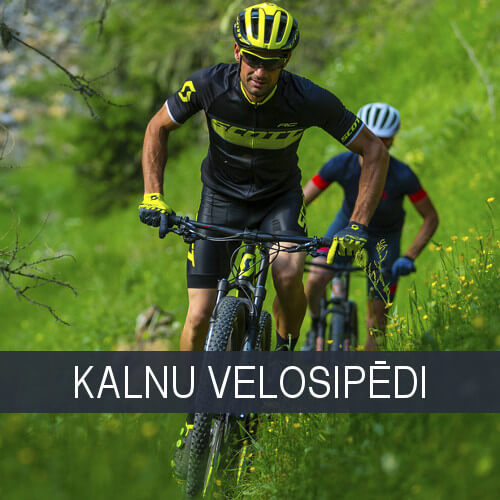 Kalnu velosipēdi braukšanai pa mežu