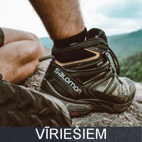 Vīriešu pārgājienu apavi