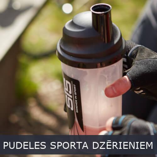 Pudeles sporta dzērieniem
