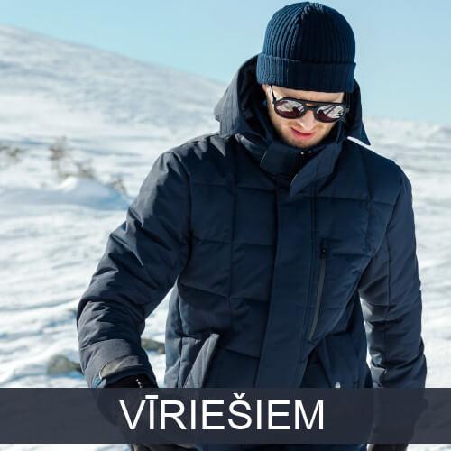 Vīriešu rudens un ziemas apģērbs