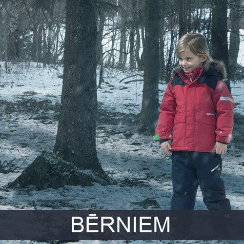 Bērnu rudens un ziemas apģērbs