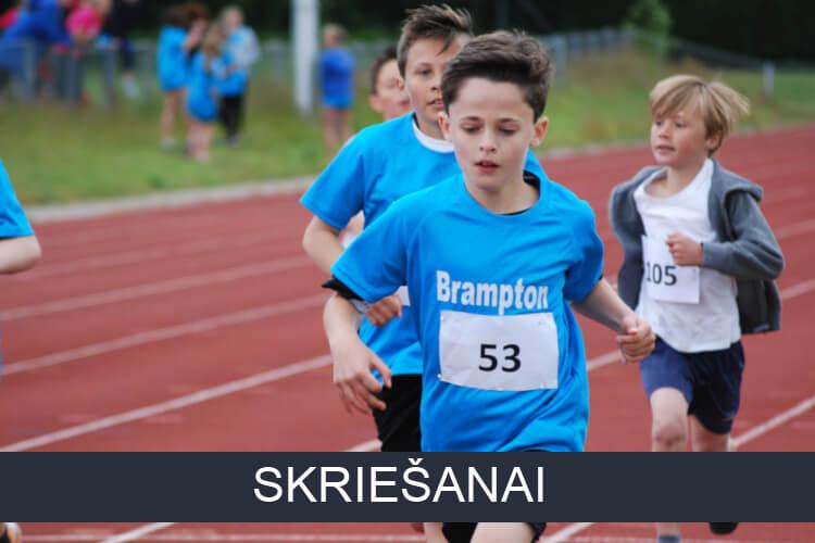 Bērnu preces skriešanai