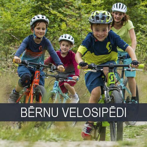 Bērnu un pusaudžu velosipēdi